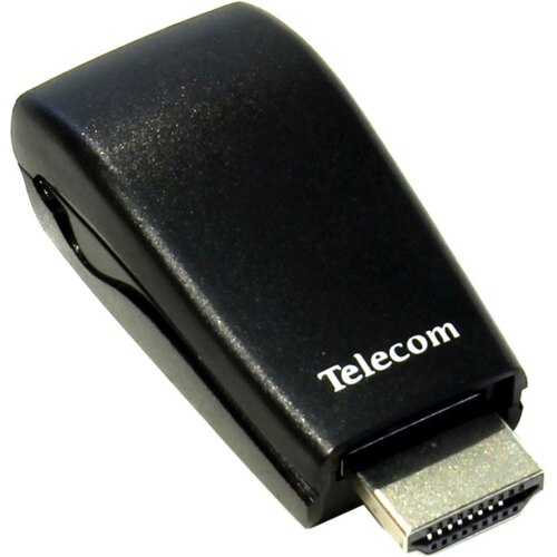 Конвертер Telecom TTC4020 Video Converter HDMI - VGA (15F)+аудио