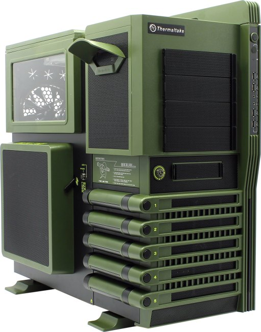 Thermaltake level 10 gt battle edition atx full tower case.
