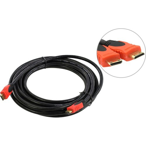 VCOM VHD6210D-5м Кабель mini HDMI to mini HDMI (19M -19M) 5м ver1.4